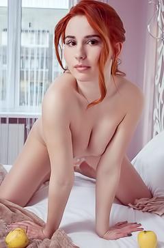 Beautiful redhead Nicole La Cray