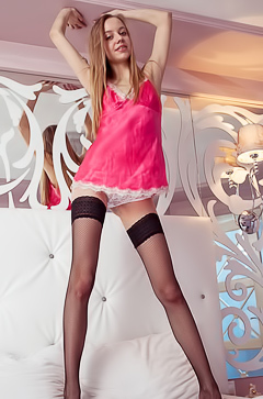 Kimberly Kace - sexy stockings