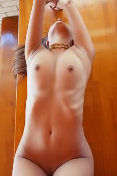 Skinny body of Yarina A