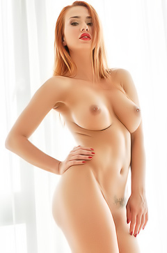 Justyna Goes - hot redhead babe