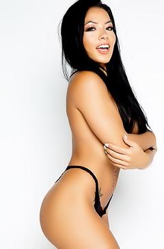 Asian model Morgan Lee