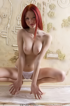 Michelle - redhead hot babe