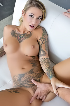 Anal with tattooed Kleio Valentien