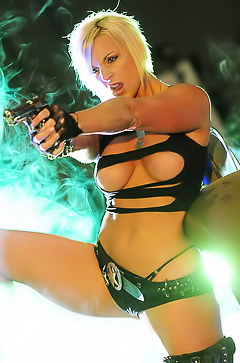 Billie Joe - wild and so hot blonde