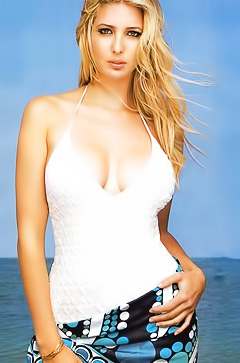 Hot businesswoman Ivanka Trump