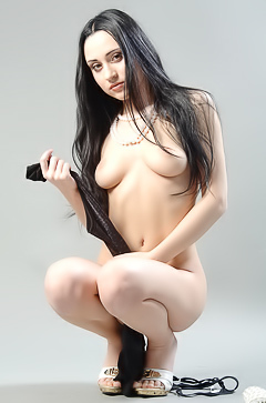 Young and sexy brunette