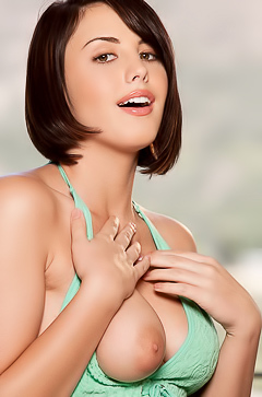 Brooke Lee Adams - boobed hot brunette