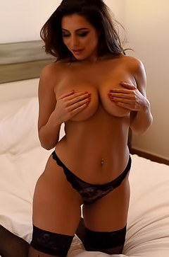 British boobed model Charley S