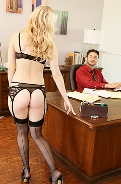 Lily Rader Fucking In Office