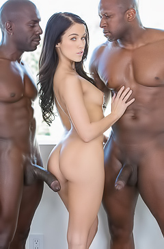 Megan Rain Interracial gangbang