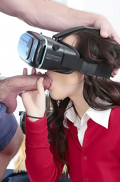 Rosylin Belle Virtual ffm blowjob