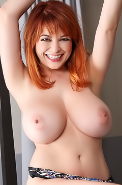 Funny and busty redhead Tessa Fowler