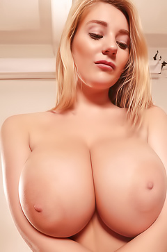 Beth Lily and her dream boobs