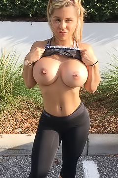 Girls with huge boobs