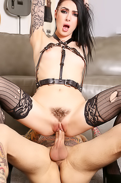 Horny Marley Brinx is riding so hard