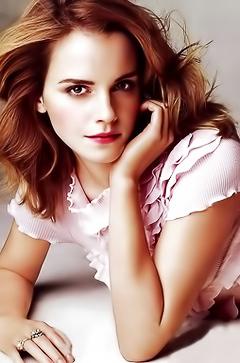 Sexy famous babe Emma Watson