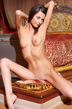 Delightful and so skinny beauty