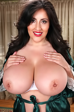 Antonella Kahllo - huge and sexy boobs
