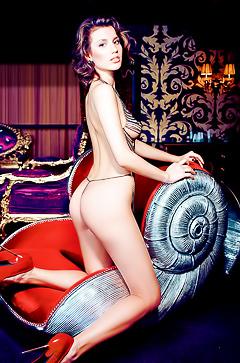 Russian porn-model Julia Popova