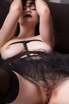 Judith Able - busty fetish brunette