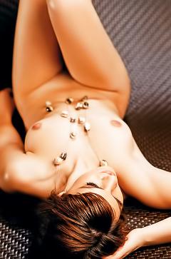 Playboy model Andrea Trivuncic