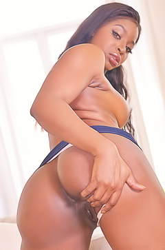 Jasmine Webb - black booty babe