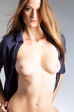 Fresh Monika in nude photooshoot