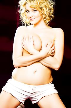 Carli Banks - busty playful blonde