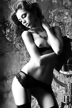 Sensual nude models