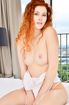 Beauty redhead Mark