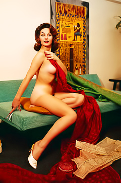 Elaine Paul - hot retro model