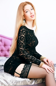 Charming Teen Linme In Stockings