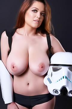 Tessa Fowler with big boobs