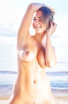 Hot Blonde Angelica B
