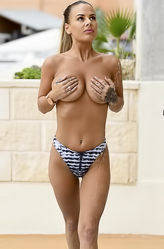 Chantelle Connelly Flaunts Her Big Boobs