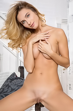 Naked and in the mood for sexy fun